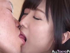 Japanese babe gets facial