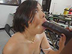 Black Rod Fucking Tight Asian Hottie Interracial