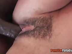 Interracial MFF Threesome With Deauxma