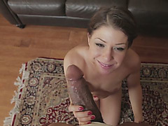 Mia Gold Swallows Gigantic Black Cock After Getting Fucked By Shane Diesel