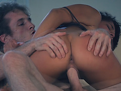 Gina Valentina Gets her tight cunt fucked hardcore