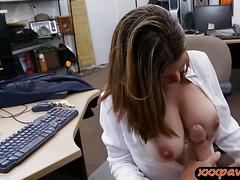 Housewife pawns her pussy for a plane ticket back home