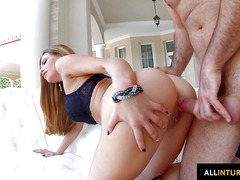 Crazy creampie for Subil Arch