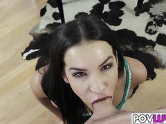 Teen Eden Sinclair Likes To Suck cock