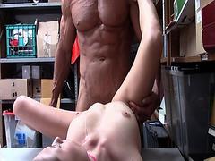 Carolina tight pussy getting fuck so hard