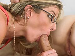 Milf Cory And Teen Lily Fucking Big Dick Threesome