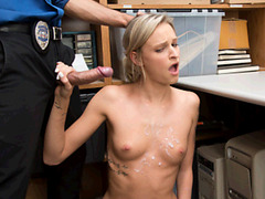 The Cop Scores With Emma Hix And Makes Her Pay