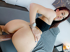 Crazed Naiomi Mae loves meaty dick for pleasure