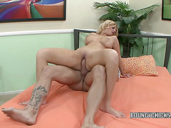 Brooklyn Bailey gets pounded with a big cock