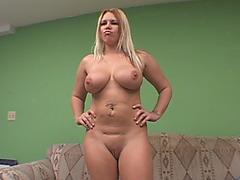 Jalynn Rose big tits milf interracial big cock spooning