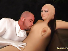 hairy spandex ass anal fucked