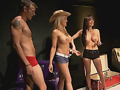 Swinger amateur foursome babe toy busty reality