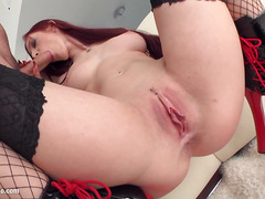 Great load of cum deep inside for Mira Sunset by All Internal