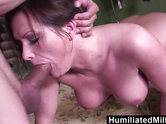 HumiliatedMilfs  She loves to spread her pussy as she gets ass fucked