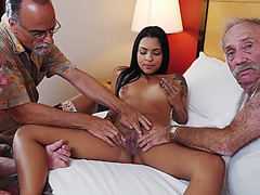 Sweet hottie Nikki Kay loves huge a dick to fuck