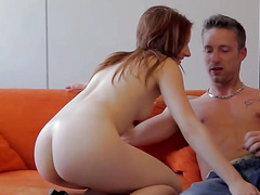 Young couple having havingsex on camera