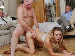 Horny Molly Mae deserves a hot group fuck
