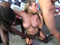 Fantastic whore Kangey Linn Karter gets wrecked in IR gangbang