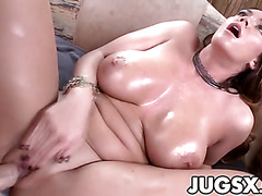 XXL Tits Babe Alison Tyler