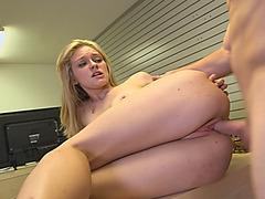 Stunning Esmi Lee and hot Alli Rae sharing big dick