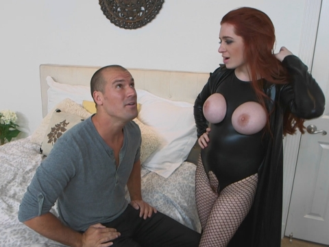 Busty milf in latex gets fucked