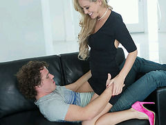 Horny MILF Cherrie Deville Scores With A Hot Teen