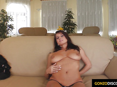 Kate Jones with nice big tits getting fucked hardcore