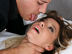 Rough Fucking With Kenzie Reeves Along With Some Bondage