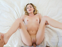 Sweet Angel Smalls needed a large cock to fuck for pleasure