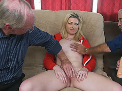 Pretty babe Stacie having a hard cock to fuck