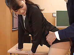Yui Oba, teacher in heats, amazing hardcore school fuck