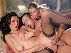 Claudia Claire Shares Her Man With Anal Loving...