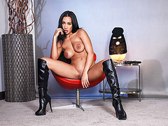 Hot Brunette Amia loves to fuck but cant stand getting fucked around