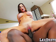 Voluptuous and MILF Kendra Lust gets her fucked by Lexington Steele