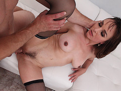 TEENGONZO Nasty Cythe Rea in stockings gets pussy drilled