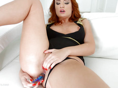 Eva Berger in messy anal scene by Ass Traffic