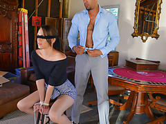 Hot Teen Alex Moore Gets A Package And Gets Fucked