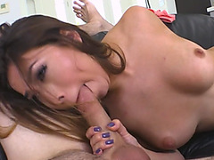 Melissa Moore practices cock sucking sperkys with a stepbrother
