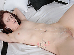Cute sexy babe Bailey Brooke loves massive cocks in her pussy