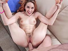 Horny rich perky bangs sexy niece Amarna Miller