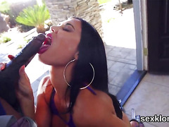 Pornstar honey gets her anus nailed with hard dick