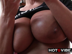 LIsa Ann Hot MILF Pussy Huge Tits