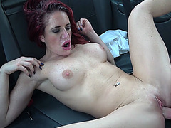 Redhead Diverse Stacey gets fucked hard by horny John