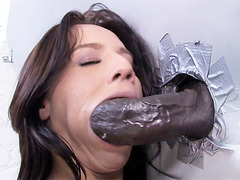 Karina O'Reilley Interracial Anal - Gloryhole