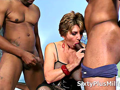 Dudes Smashed a Mature Whore