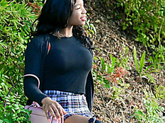 Mya Mays And Her White Mystery Man Fuck Their Brains Out
