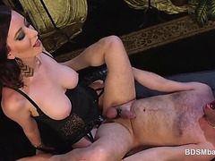 Spicy Milf Cherry Kid Dominating Her Man