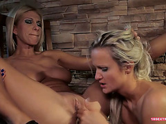 Nasty Lesbians Are Having Lesbo Action