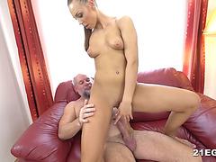 Cute Babe Fucks With an Older Fucker