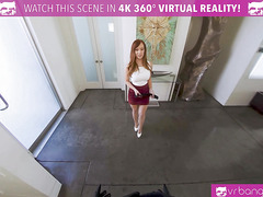 VRBangers.com-Busty milf boss punishes her employee with her dominating sperkys in VR porn